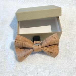 Accessories - Cork Bow Tie
